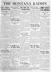 The Montana Kaimin, February 10, 1920