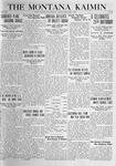 The Montana Kaimin, February 17, 1920