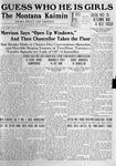 The Montana Kaimin, February 20, 1920
