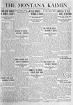 The Montana Kaimin, February 23, 1920