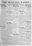 The Montana Kaimin, March 2, 1920