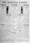 The Montana Kaimin, March 9, 1920