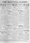 The Montana Kaimin, March 30, 1920