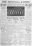The Montana Kaimin, April 6, 1920