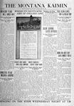 The Montana Kaimin, April 13, 1920
