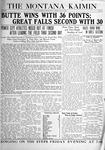 The Montana Kaimin, May 14, 1920