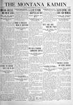The Montana Kaimin, May 18, 1920