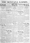 The Montana Kaimin, May 21, 1920