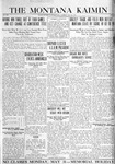 The Montana Kaimin, May 25, 1920