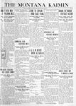 The Montana Kaimin, May 28, 1920