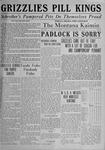 The Montana Kaimin, June 1, 1920