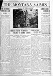The Montana Kaimin, July 13, 1920