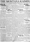 The Montana Kaimin, October 1, 1920
