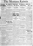 The Montana Kaimin, October 5, 1920