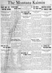 The Montana Kaimin, October 12, 1920