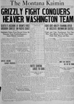 The Montana Kaimin, October 19, 1920