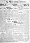 The Montana Kaimin, October 22, 1920