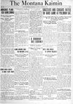 The Montana Kaimin, October 26, 1920