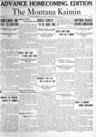 The Montana Kaimin, November 5, 1920
