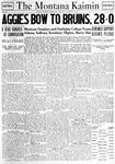 The Montana Kaimin, November 13, 1920
