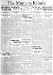 The Montana Kaimin, November 16, 1920