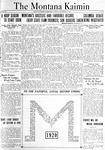 The Montana Kaimin, November 23, 1920