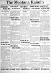 The Montana Kaimin, January 7, 1921
