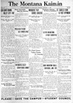 The Montana Kaimin, January 11, 1921