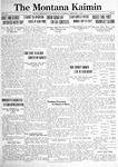 The Montana Kaimin, February 1, 1921