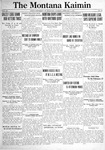 The Montana Kaimin, February 8, 1921