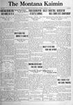 The Montana Kaimin, March 1, 1921