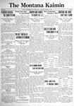The Montana Kaimin, March 8, 1921