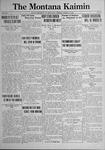 The Montana Kaimin, March 15, 1921