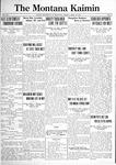 The Montana Kaimin, April 22, 1921