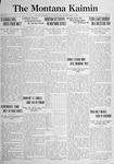 The Montana Kaimin, May 6, 1921