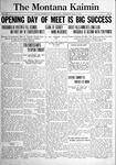 The Montana Kaimin, May 12, 1921