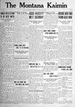 The Montana Kaimin, May 20, 1921