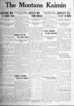 The Montana Kaimin, May 27, 1921