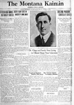 The Montana Kaimin, August 12, 1921