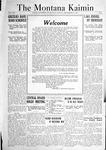 The Montana Kaimin, September 30, 1921