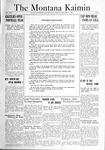 The Montana Kaimin, October 7, 1921