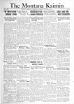 The Montana Kaimin, October 25, 1921