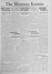 The Montana Kaimin, November 4, 1921