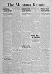 The Montana Kaimin, November 8, 1921