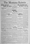 The Montana Kaimin, November 11, 1921