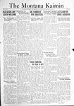 The Montana Kaimin, November 18, 1921