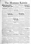 The Montana Kaimin, November 22, 1921