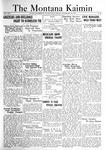 The Montana Kaimin, November 25, 1921