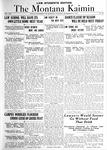 The Montana Kaimin, November 29, 1921