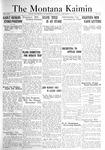 The Montana Kaimin, December 2, 1921